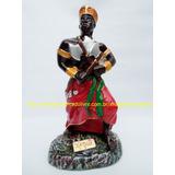 Imagem Orixa Xangô Estatua 25cm Africa Umbanda Candomblé Br