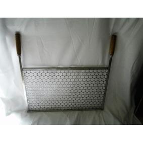 Grelha De Inox Para Churrasqueira Pré-moldada L 65x P 42cm