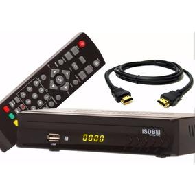 Conversor Digital Terrestre Full Hd Tv Hdmi Rca + Cabo Hdmi