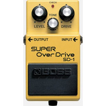 Pedal Boss Sd-1 Super Over Drive Musical Store
