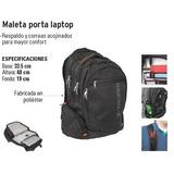 Maleta Porta Laptop Truper Bagpack