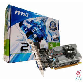 Tarjeta De Video Msi N210 Ddr3 1gb Pci Express Hdmi Dvi Xtc