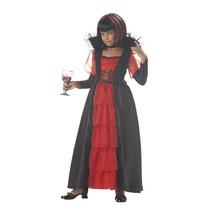 Disfraz Regal Vampira California Costume Niño M Extra Grande