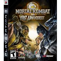 Mortal Kombat Vs. Dc Universe Ps3 [download Digital]