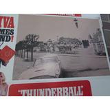007 Thunderball Lobby Card Deste Filme Clássico Do 007 Raro!