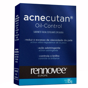 Acnecutan Oil Control Nutrilatina - Sabonete Esfoliante 85g