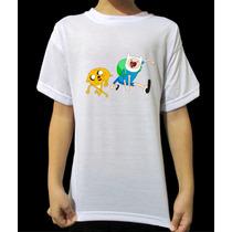 Camisa Infantil - Hora De Aventura