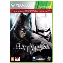 Batman Arkham Asylum + Batman Arkham City - X360