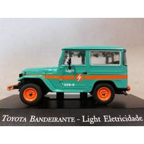 Miniatura Toyota Bandeirante Light Eletricidade Serviço 1/43