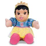 Boneca Princesas Baby Pano - Branca De Neve