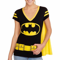 Playera Batman Mujer, Original Dc Comics.