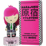 Perfume Harajuku Lovers Wicked Style Music 30ml Edt - Novo