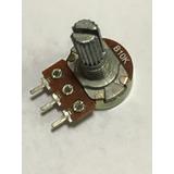 Potenciômetro Linear Rotativo S/chave 10k Eixo 20mm 100 Pças