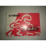 Manual Moto Yamaha Xt 225 2003 2004 2005 2006 Original Xt225