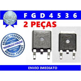 2x Fgd4536 To252 Transistor Smd Novo E Original 2 Peças
