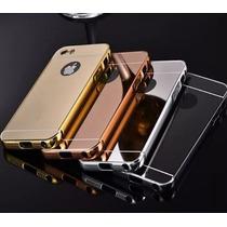 Bumper Espejo Aluminio Iphone 4 4s 5 5s Se + Envio Gratis
