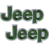 Jeep Jeep Par Carros Parches Bordados