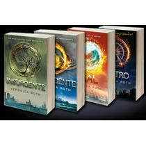Saga Divergente 4 Libros+envio Gratis Dhl