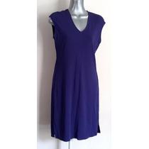 Vestido Formal Stretch Morado Purpura Azul Corto Pegado Ny&c