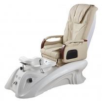 Silla Masajeadora Spa Deluxe, Foot Spa Chair, 100% Piel