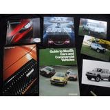 Lote Folleto Mazda 626 323 1981 2013 No Manual Insignia