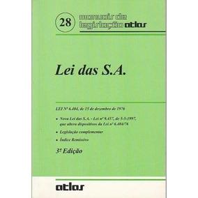 Lei Das S. A. - Lei N? 6. 404, De 15 De Dezembro De 1976 - E
