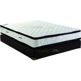 Sommier Y Colchon Kavanag 140x190 Doble Pillow Panama Jaquar