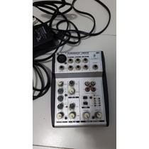 Mesa De Som E Mixer Usb Eurorack Ub502 Behringer