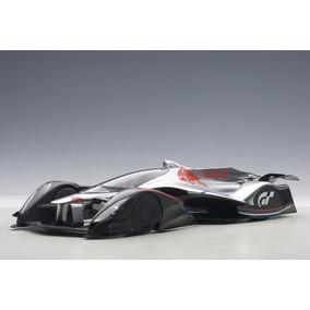 Red Bull X2014 Fan Car S. Vettel Color Plata Metálico