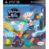 Phineas Y Ferb Ps3 || Stock Ya! || Falkor!