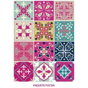 Mosaicos de segunda vinilos decorativos en mercado libre for Stickers azulejos cocina