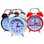 Relógio Despertador Antigo C/ Luz Par Consulta Noturna Retrô