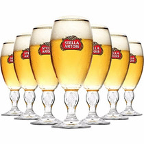 Kit 12 Cálices Taça Copo Stella Artois 250ml