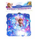 Banner Frozen Feliz Cumpleaños Niña Decora Casa Fiesta