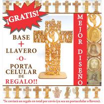 Cruz Oración Ángel De La Guarda Niño 30 Cm Recuerdos Bautizo