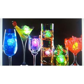 10 Hielo Luminoso,cubito Luminoso Fiesta,neón,batucada,luz