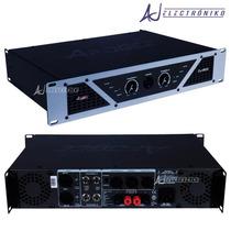 Potencia Amplificador Apogee Dj-600 2 Canales 600w Rms 8ohms