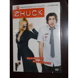 Dvd Chuck A Primeira Temporada 4 Discos Lacrado !!!