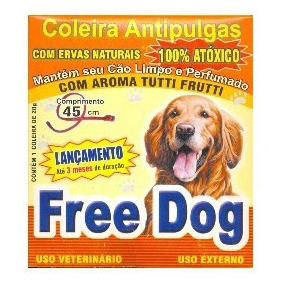 Coleira Anti-pulgas Free Dog