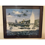 Quadro Avião Anfíbio By Tony Weddel - Impressão