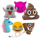 Emoji Powerbank Cargador Portatil Emoticon Samsung Iphone