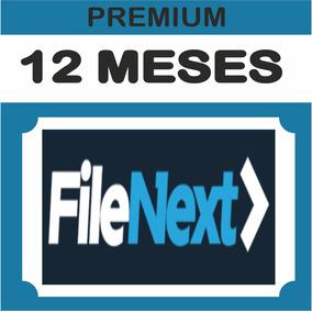 Cuentas Premium Filenext 365 Dias - 12 Meses - 1 Año