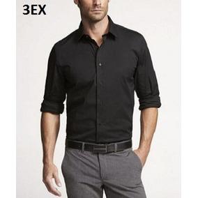 Xs, S - Camisa Express Negra C3ex Ropa Hombre 100% Original