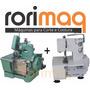 Maquina De Costura Overlock + Galoneira Semi Industrial C Nf