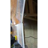 Placa Acrilico Transparente 10 Cmx 10 Cm X 10mm Simil Vidrio