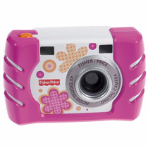 Fisher Price Camara Digital Rosa Totalmente Nueva En Oferta