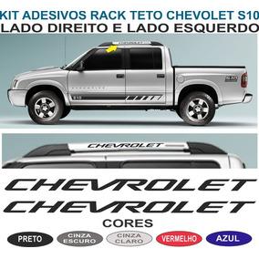Acessorios Adesivo Rack De Teto S10 Cabine Dupla Chevrolet