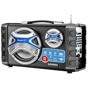 Caixa Acústica Mco-03 Thunder Iii 50w Bateria Recarregável