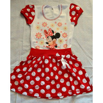 Vestido Infantil Minnie ,tema, Fantasia,aniversario