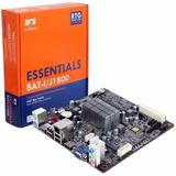 Motherboard Ecs Bat-i V1.2, J1800, Sata3.0, Usb 3.0